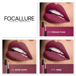 🎀3 Piece Focallure Matte Liquid Lipstick Set🎀